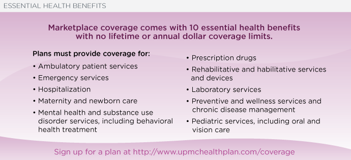 Affordable Care Act Coverage Obamacare 2017 Upmc Health Plan